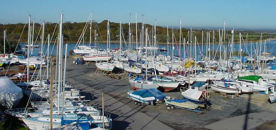 Moorings in Chichester Harbour